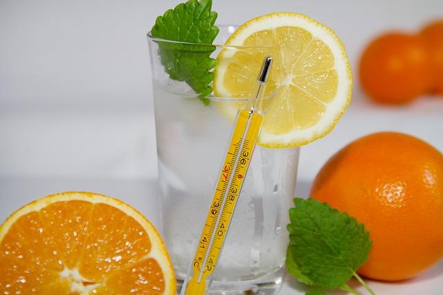 Orangensaft bei Erkältung