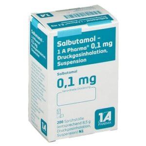 Salbutamol 1A Pharma