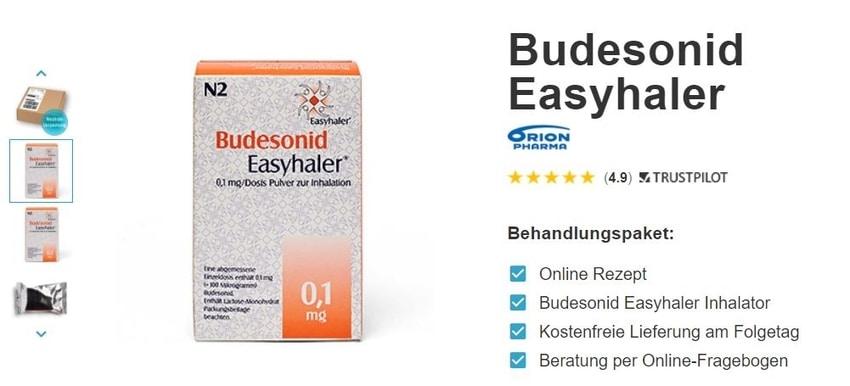 Budesonid Easyhaler rezept